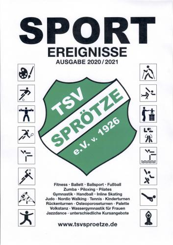 Vereinsheft TSV Sprötze